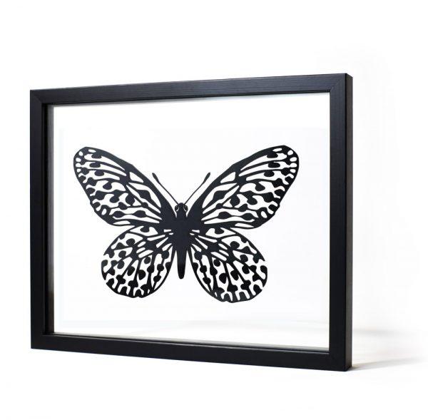 Papillon - tableau design Ornaté