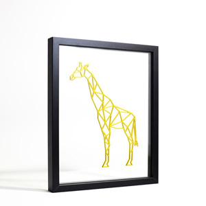 Cadre chambre Girafe - Ornaté