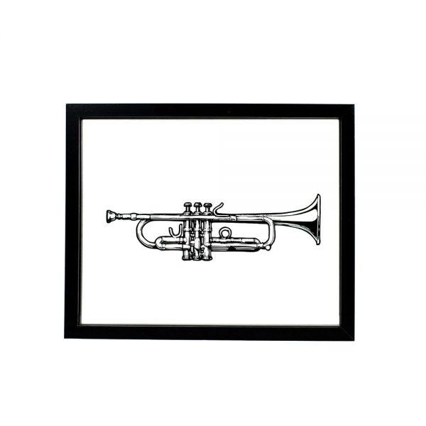 instrument-trompette-noir